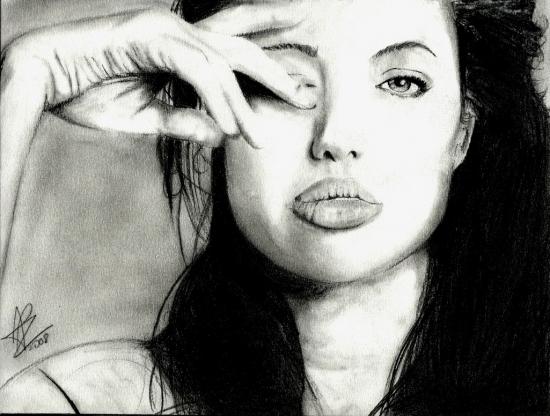 Angelina Jolie by apz